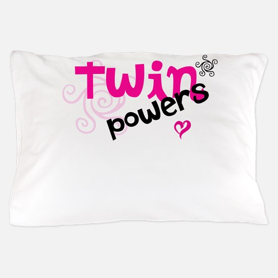 Twin Powers Pillow Case