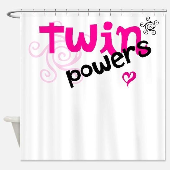 Twin Powers Shower Curtain