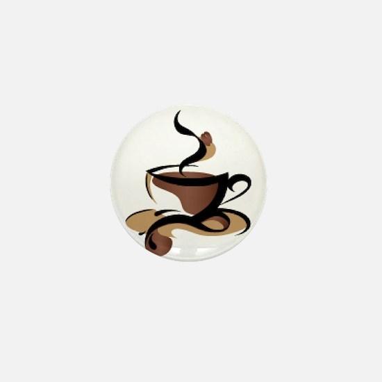 Coffee Time Mini Button