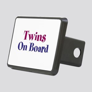 Twins On Board Rectangular Hitch Cover