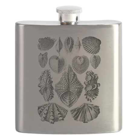 Shell Fossils Flask