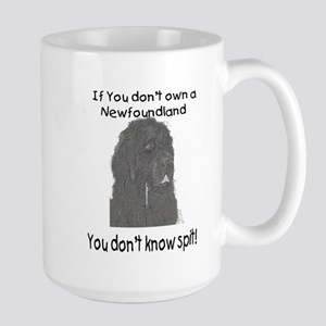 Newfoundland You Dont Know Spit Large Mug