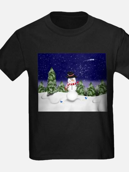 Snowman Scene T