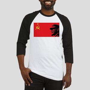 Lenin Soviet Flag Baseball Jersey
