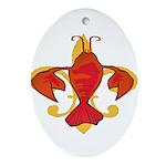 Fleurdecraw6atr Ornament (Oval)