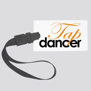 Tap Dancer Large Luggage Tag