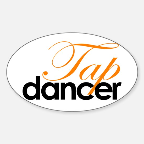 Tap Dancer Sticker (Oval)