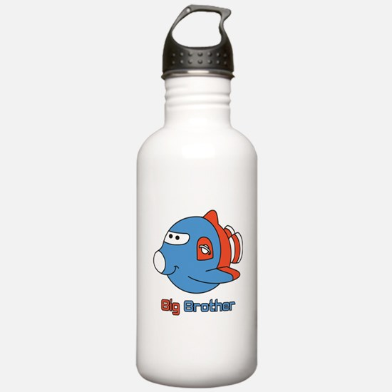 Big Brother Rocketship Water Bottle
