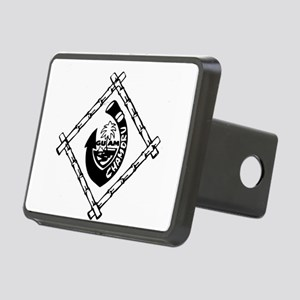 Guam Chamoru Rectangular Hitch Cover