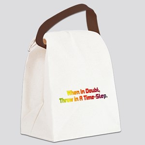 Time Step Canvas Lunch Bag