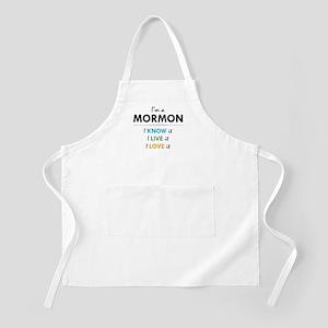 I'm a Mormon: I know it, I live it, I love it Apro