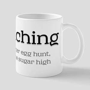 Geocaching - Line an easter egg hunt Mug