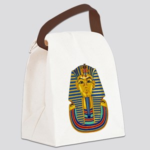 King Tut Canvas Lunch Bag