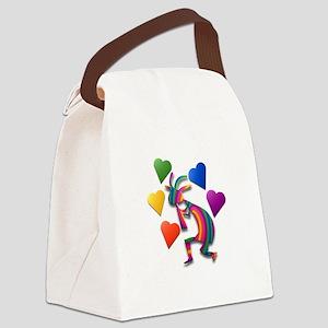 One Kokopelli #53 Canvas Lunch Bag