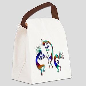 Three Kokopelli #109 Canvas Lunch Bag