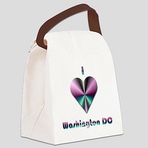 I Love Washington DC #2 Canvas Lunch Bag