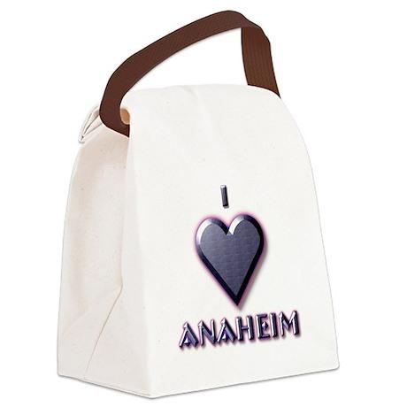 I Love Anaheim #5 Canvas Lunch Bag