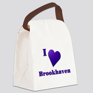 I Love Brookhaven #18 Canvas Lunch Bag