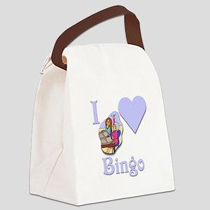 I Love Bingo #5 Canvas Lunch Bag