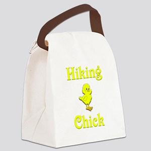 Hiking Chick Canvas Lunch Bag