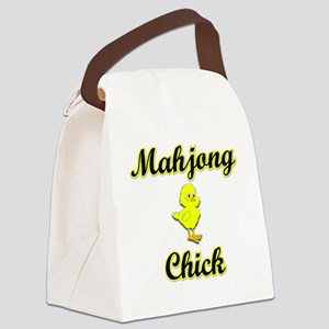 Mahjong Chick Canvas Lunch Bag