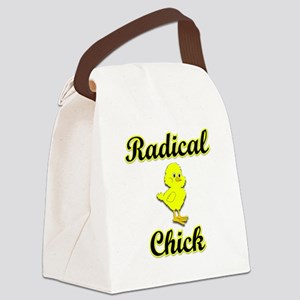 Radical Chick Canvas Lunch Bag