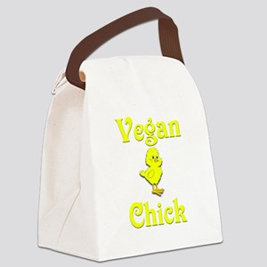 Vegan Chick Canvas Lunch Bag