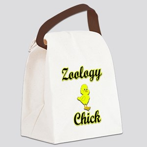 Zoology Chick Canvas Lunch Bag