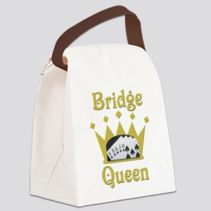 Bridge Queen Canvas Lunch Bag