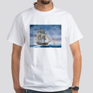 Under sail White T-Shirt