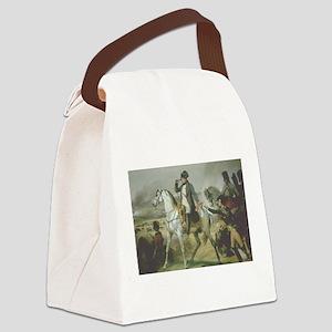 Napoleon Bonaparte Canvas Lunch Bag