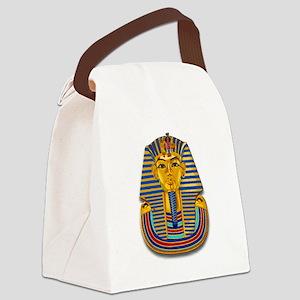 King Tut Mask #2 Canvas Lunch Bag