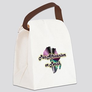 Pan-Africanism or Perish 17 Canvas Lunch Bag
