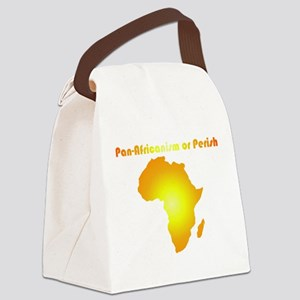 Pan-Africanism or Perish 13 Canvas Lunch Bag