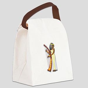 Harpist Canvas Lunch Bag