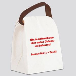 Octal or Decimal? #2 Canvas Lunch Bag