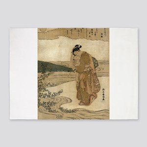 Bushclover At Tamagawa - Harunobu Suzuki - 1766 -