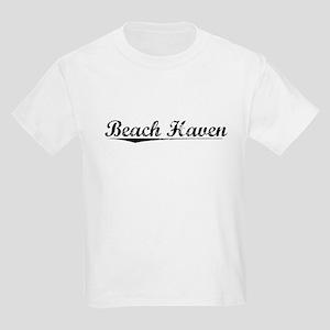 Beach Haven, Vintage Kids Light T-Shirt