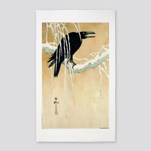 Blackbird In Snow - Koson Ikeda - 1867 - woodcut A