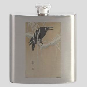 Blackbird In Snow - Koson Ikeda - 1867 - woodcut F