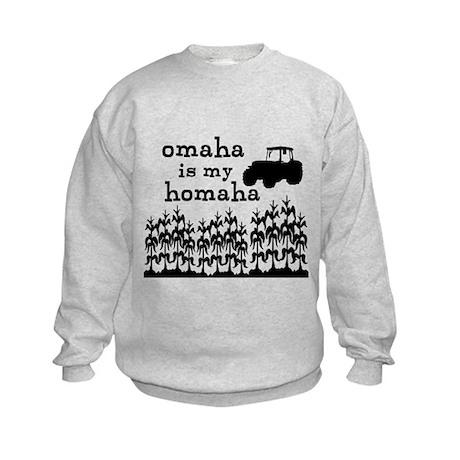 Omaha is My Homaha Kids Sweatshirt