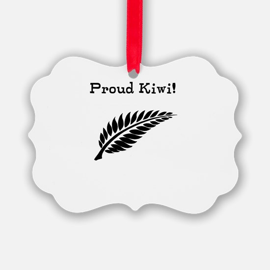 Proud Kiwi Ornament