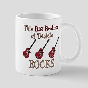 Big Bro Rocks Triplets Mug