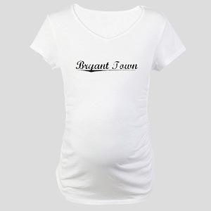 Bryant Town, Vintage Maternity T-Shirt