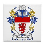 MacCombie Coat of Arms Tile Coaster
