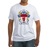 MacCombie Coat of Arms Fitted T-Shirt