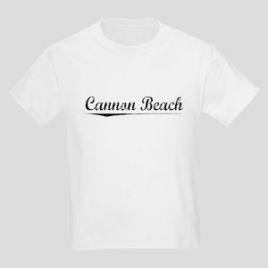 Cannon Beach, Vintage Kids Light T-Shirt