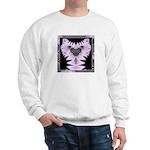 Fractal Kitty Ash Grey Sweatshirt