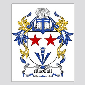 MacCall Coat of Arms Small Poster