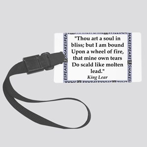 Thou Art A Soul In Bliss Luggage Tag
